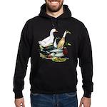 Duck Quartet Hoodie (dark)