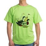 Duck Quartet Green T-Shirt