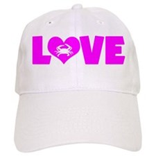 LOVE CRABS Baseball Cap