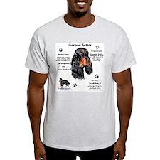 Gordon 1 Ash Grey T-Shirt