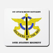 DUI - 1st Atk/Recon Bn - 10th Aviation Regt with T