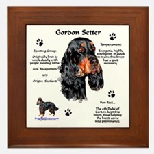 Gordon 1 Framed Tile
