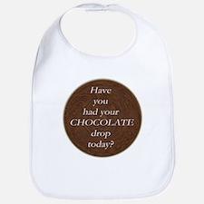 Umm, CHOCOLATE! Bib