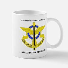 DUI - 3rd GS Bn - 10th Aviation Regt with Text Mug