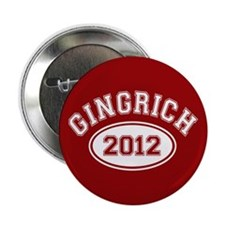 """Gingrich 2012 2.25"""" Button (10 pack)"""