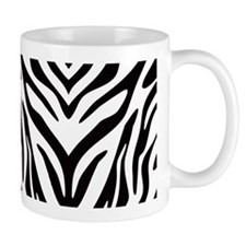 Zebra Animal Print Small Mugs