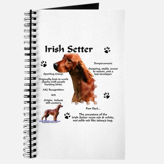 Irish Setter 1 Journal