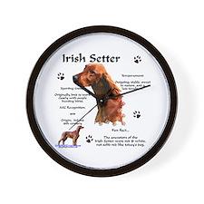 Irish Setter 1 Wall Clock