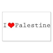 I (lheart) Palestine Decal