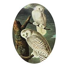Audubon Fine Art Ornament (Oval)