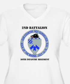 DUI - 2nd Bn - 30th Infantry Regt with Text Women'