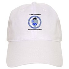 DUI - 2nd Bn - 30th Infantry Regt with Text Baseball Cap