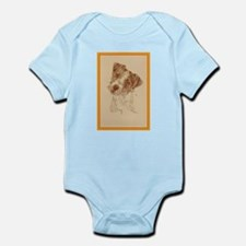 Jack Russell Terrier Rough Infant Bodysuit