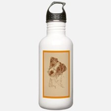 Jack Russell Terrier Rough Water Bottle
