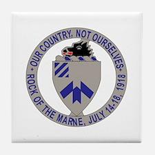 DUI - 2nd Bn - 30th Infantry Regt Tile Coaster