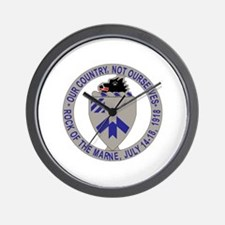 DUI - 2nd Bn - 30th Infantry Regt Wall Clock