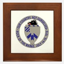 DUI - 2nd Bn - 30th Infantry Regt Framed Tile