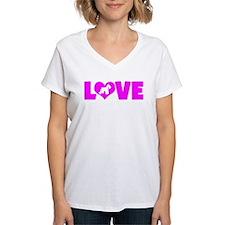 LOVE SCHNAUZER (MINIATURE) Shirt