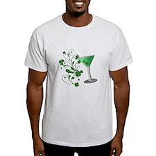 St. Patrick's Day Martini T-Shirt