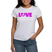 LOVE SCHNAUZER (MINIATURE) Tee
