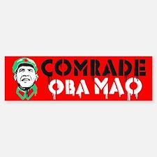 Anti-Obama Oba Mao Bumper Bumper Sticker