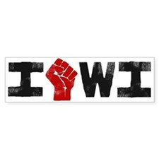 Solidarity Wisconsin Bumper Sticker