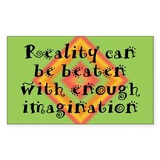 Reality Can be Beaten Decal