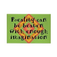 Reality Can be Beaten Rectangle Magnet (100 pack)