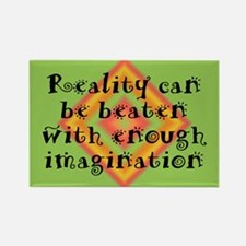 Reality Can be Beaten Rectangle Magnet (10 pack)