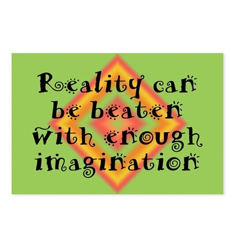 Reality Can be Beaten Postcards (Package of 8)