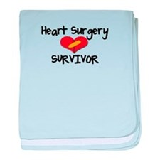 Cute Heart surgery baby blanket
