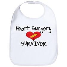 Unique Heart surgery Bib