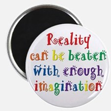 "Reality Can be Beaten 2.25"" Magnet (100 pack)"