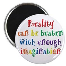 "Reality Can be Beaten 2.25"" Magnet (10 pack)"