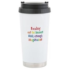 Reality Can be Beaten Travel Mug