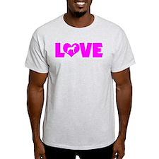 LOVE RHODESIAN RIDGEBACK T-Shirt
