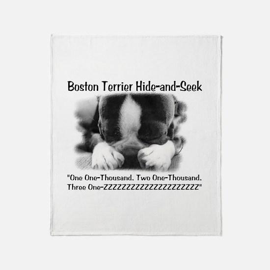 Boston Hide and Seek Throw Blanket