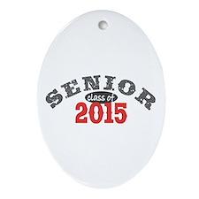 Senior Class of 2015 Ornament (Oval)