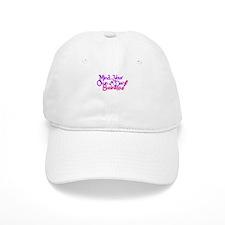 M.Y.O.D.B. (purple & pink) Baseball Cap