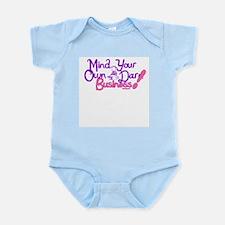 M.Y.O.D.B. (purple & pink) Infant Bodysuit