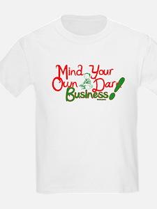 M.Y.O.B. (red & green) T-Shirt