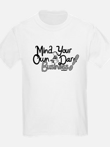 M.Y.O.D.B. (black & grey) T-Shirt