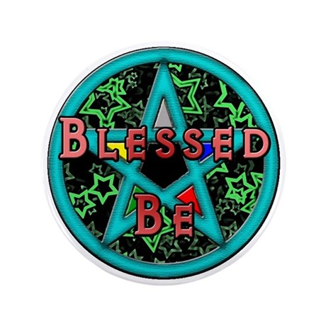 """Blessed 3.5"""" Button"""
