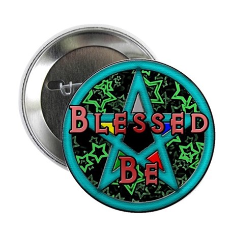 """Blessed 2.25"""" Button (10 pack)"""