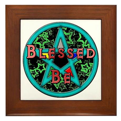 Blessed Framed Tile
