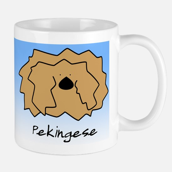 Cartoon Pekingese Mug