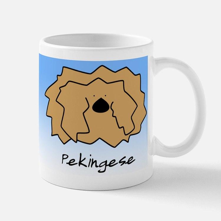 Cartoon Pekingese Small Small Mug