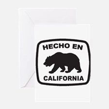 Cute Made in california Greeting Card