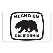 Cute Made california Decal
