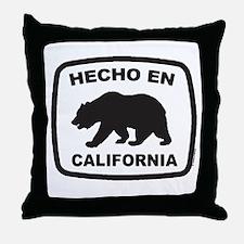 Cute Made in california Throw Pillow